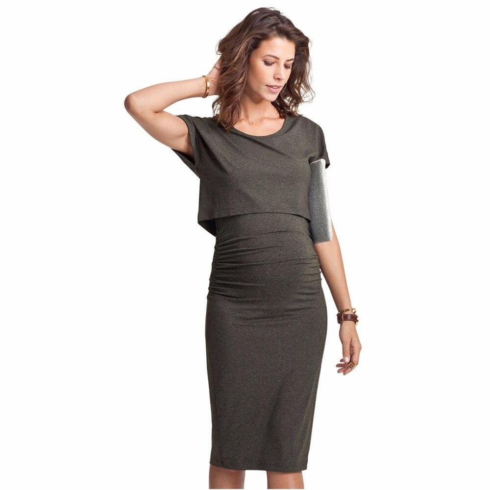 Fashion Summer clothing Pregancy dresses Outdoor clothes Maternity women dress Large size Lady dresses Elegant dress Slim Pencil