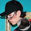 Personalidade da moda cadeia decorado balanço dança de rua boné de beisebol unisex hiphop bonés snapback chapéus homem motorcyle casquette