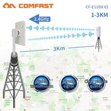 Comfast 300 Мбит/с 2,4 г беспроводной открытый Wi-fi длинный диапазон cpe 11dbi антенна Wi fi ретранслятор маршрутизатор точка доступа мост AP CF-E110NV2