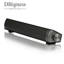 Dbigness Bluetooth динамик тонкий Altavoz portatil Bluetooth приемник Саундбар USB динамик стерео сабвуфер бумбокс для PhonePC tv