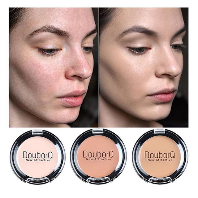 BearPaw corrector crema 3 colores maquillaje corrector crema corrector Fundación Natural de moda se desvanecen las arrugas de ojos oscuros círculos