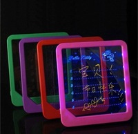 Free Shipping LED Message Board Led Writing Board Led Display Fluorescence Plate With A Highlighter