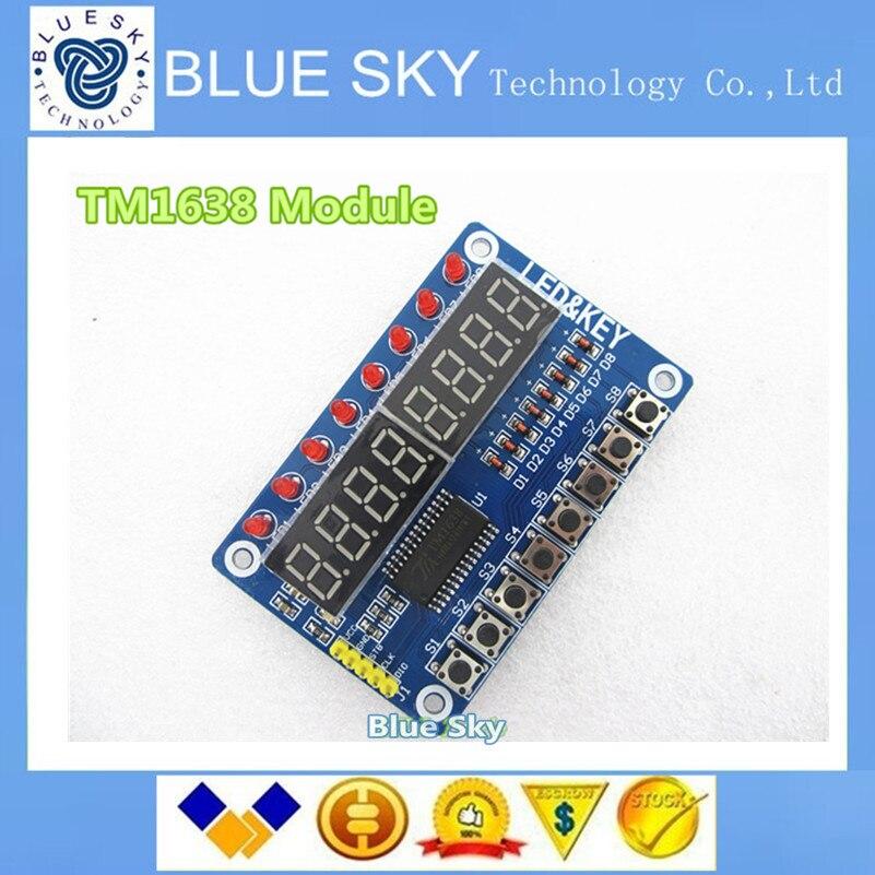 Tm1638 модуль
