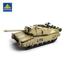 KAZI Militar Modelo de Tanque Bloco ABS Bloco de Construção DIY Brinquedos Caçoa o Presente 4 Estilo Exército Tijolo Compatível com Lego