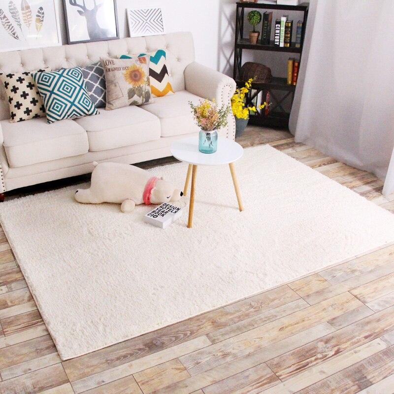 Гостиная спальня кровать одеяло домой одеяло современный минималистский прямоугольный журнальный столик защиту окружающей среды ковер long...