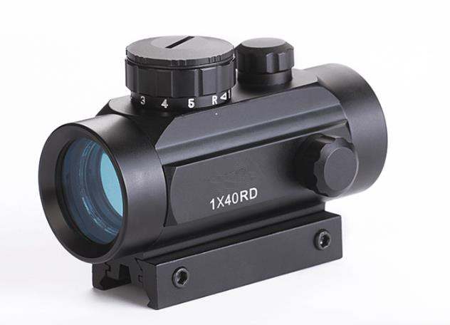 Hot koop 1x40mm 5-Mode rode en groene dot sight riflescope voor jacht - Jacht - Foto 2