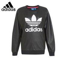 Original New Arrival Adidas Originals TRF SWEATSHIRT Women's Pullover Jerseys Sportswear