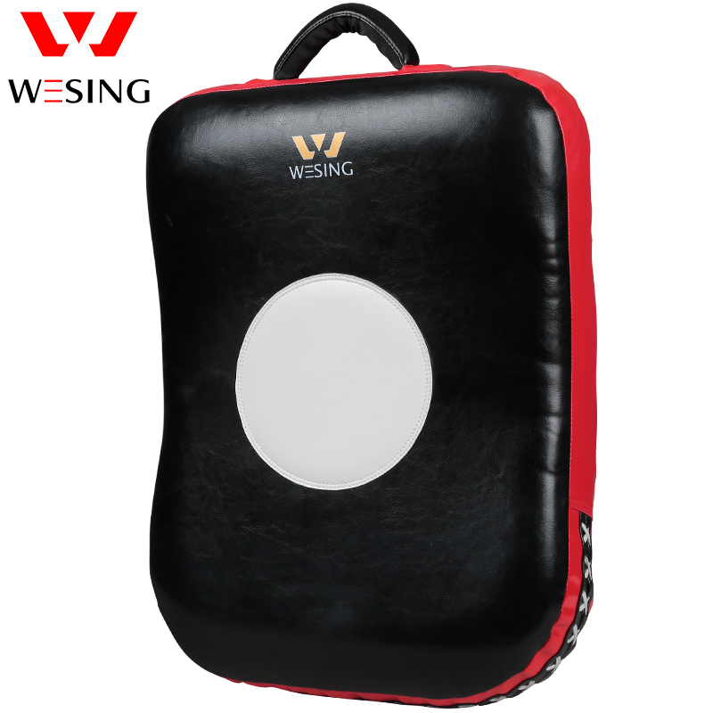 Spotrs Muay Thai Kick Boxing Training Shield Curve Pads Punch MMA Foot Target
