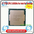 Original de intel core i7 7700 procesador 3.60 ghz/8 mb de caché/quad core/socket lga 1151/quad core/i7-7700 cpu de escritorio