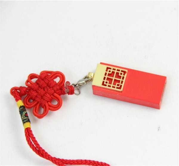 Red Chinese Knot Ceramics Ceramic Usb Flash Drive 64GB Pen Drive 64GB USB Stick 32GB Pendrive 16GB Disk On Key 8GB Computer Gift