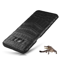 Luxury Genuine Crocodile Belly Skin Case For Samsung Galaxy S8 S8 Plus Cover Original Crocodile Leather