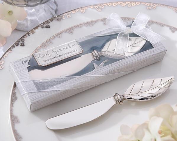 Sosire nouă Chrome Leaf Spreader 100PCS / LOT nunți favorizează - Produse pentru sărbători și petreceri