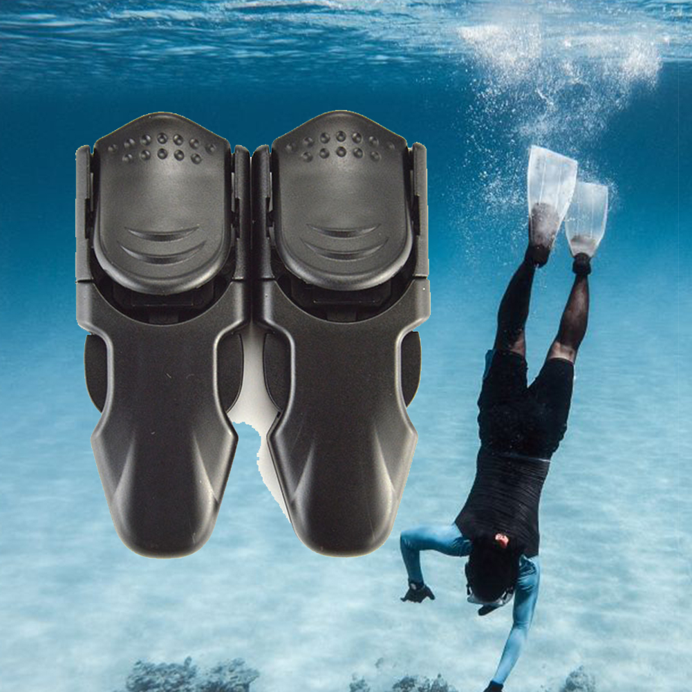 Adjustable Swimming Fin Strap Diving Flipper Buckles Durable Foot Snorkeling Accessories Quick Release Swim Scuba Lightweight #2