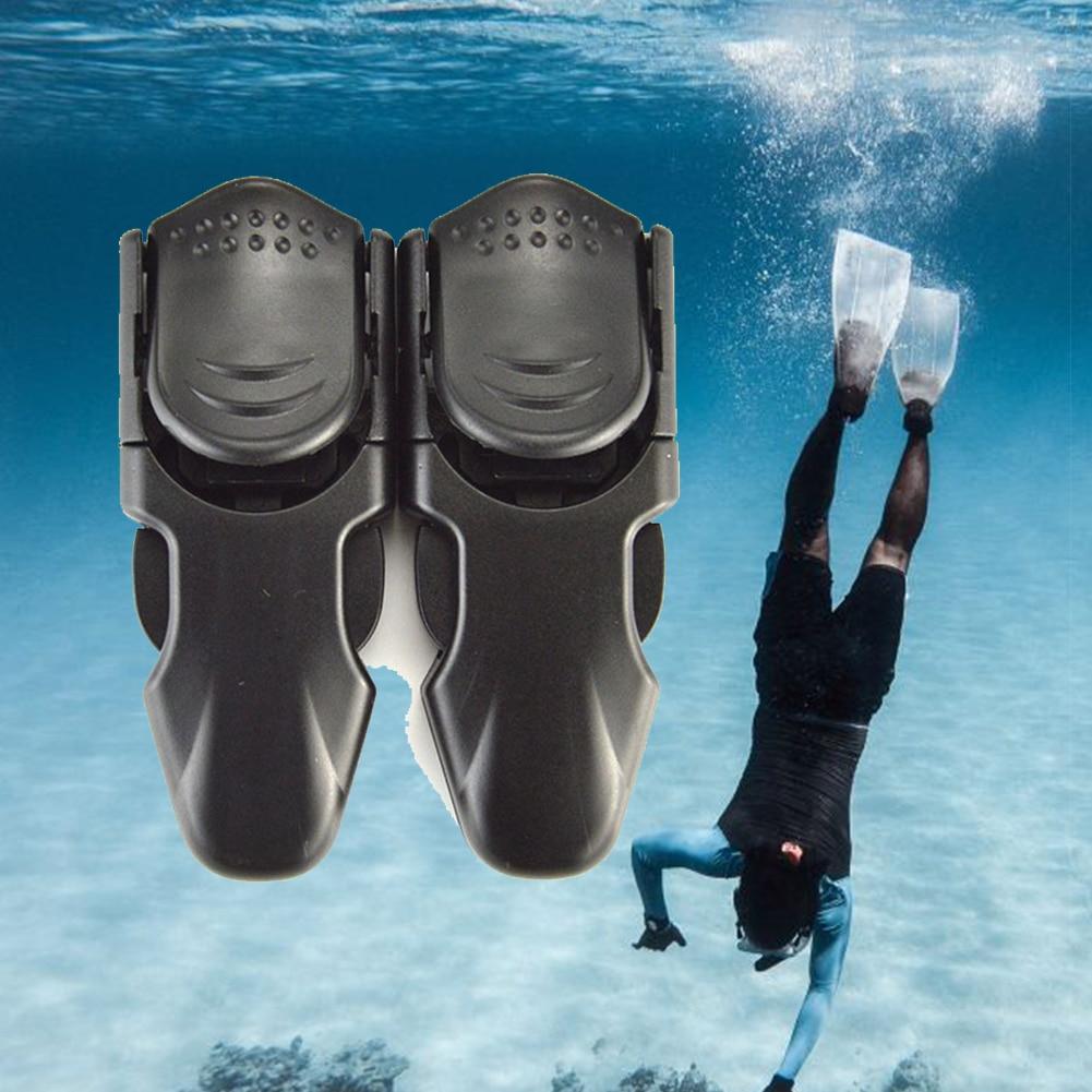 Adjustable Swimming Fin Strap Diving Flipper Buckles Durable Foot Snorkeling Accessories Quick Release Swim Scuba Lightweight #2