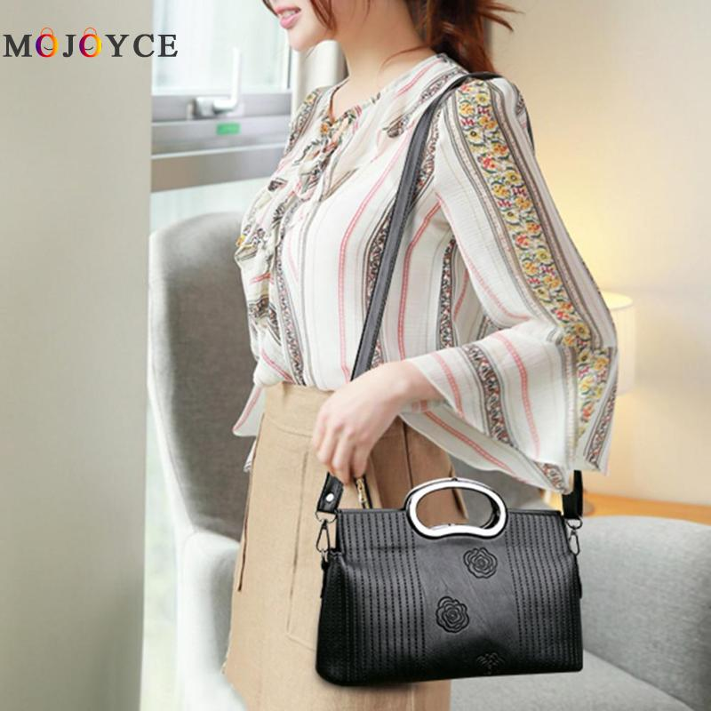 Luxury Brand PU Leather Women Messenger Bag Solid Color Female Shoulder Bag Office Lady Clutch Handbag Bolsa Feminina 3