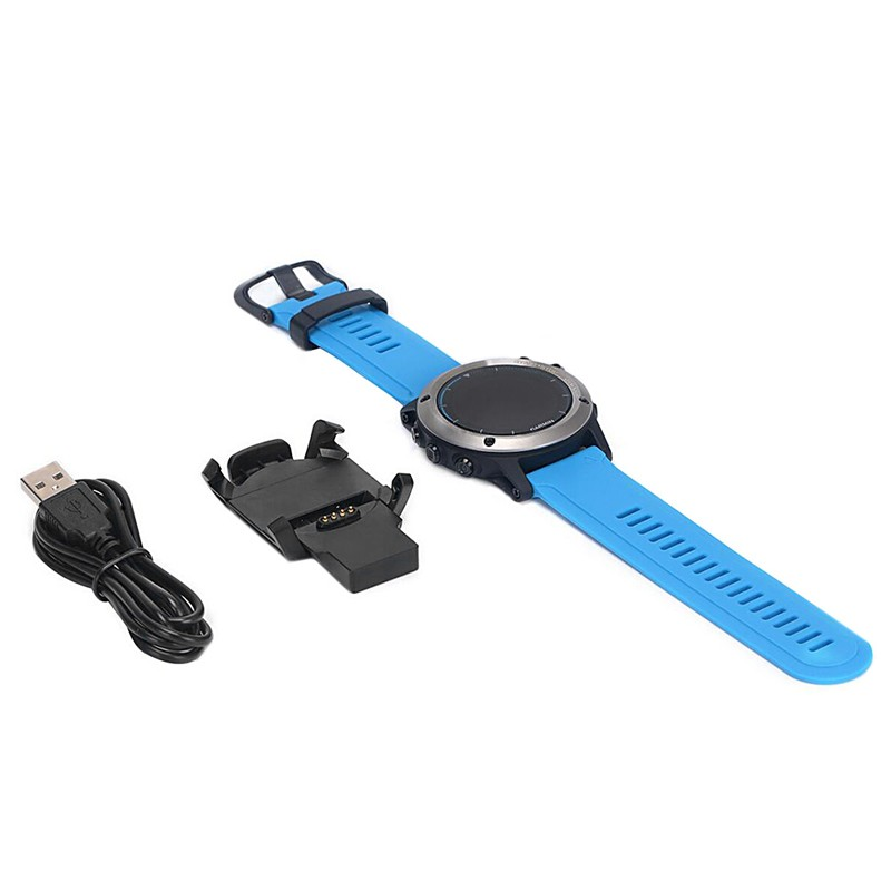 USB Dock Charger Charging Data Sync Cable With Band For Garmin Fenix 3 Watch New charger for garmin fenix 3 hr sasfety data sync cradle dock desktop usb charging clip station for garmin fenix 3 smart watch