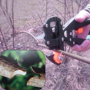 Image 3 - Garden Tools Pruner Chopper Vaccination Cutting Tree Garden Grafting Tool with 2 Blades Plant Shears Scissors Secateurs