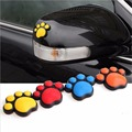 Styling Car Sticker Bear Paw Dog Animal Footprint Emblem Auto Car Crash Sticker Door Side Guard Protector Car Decoration