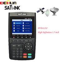 Satlink WS-6916 الرقمية الفضائية مكتشف dvb/s2 عالية الوضوح 3.5 بوصة mpeg-4 hd متر مع mpeg/MPEG-4 WS6916 استقبال