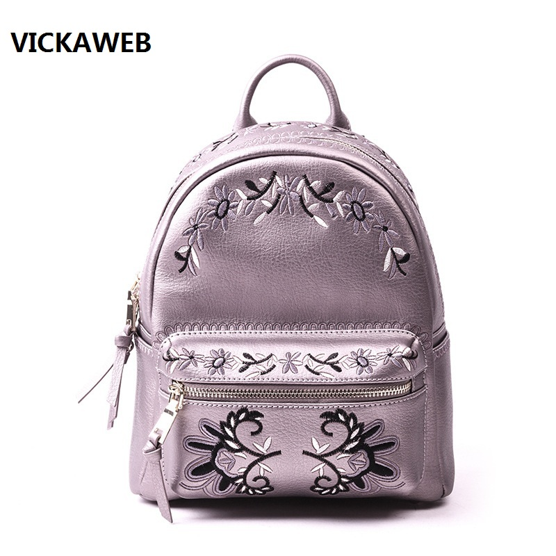 mini backpack women leather bagpack small school bags for teenage girls embroidery back pack china famous brand vintage men women backpack school bags embroidery waterproof laptop back pack student bagpack for teenager