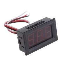 Mini Voltmeter Tester Digital Voltage Test Battery DC 0-30V Red/Blue/Green Auto Car