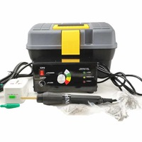 Máquina de reparo de plástico kit garagem carro pára-choques reparação quente grampeador