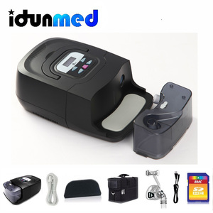 Image 2 - BMC CPAP Auto Machine GI Anti Snoring Automatic Portable Device With Silicone Full Face Mask Strap Tubing Filter For Sleep Apnea