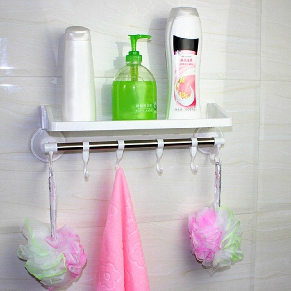 Bad Dusche Bad Saug Halter für Shampoos Dusche Gel edelstahl + ...