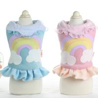 cotton-lace-princess-rainbow-dog-dress-coats-yorkie-maltese-chiwawa-clothing-for-dogs-pet-puppy-dog-cat-clothes