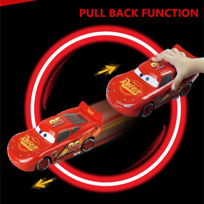 2017 Disney Mcqueen 22cm Pull Back Emulational Race Cars 3