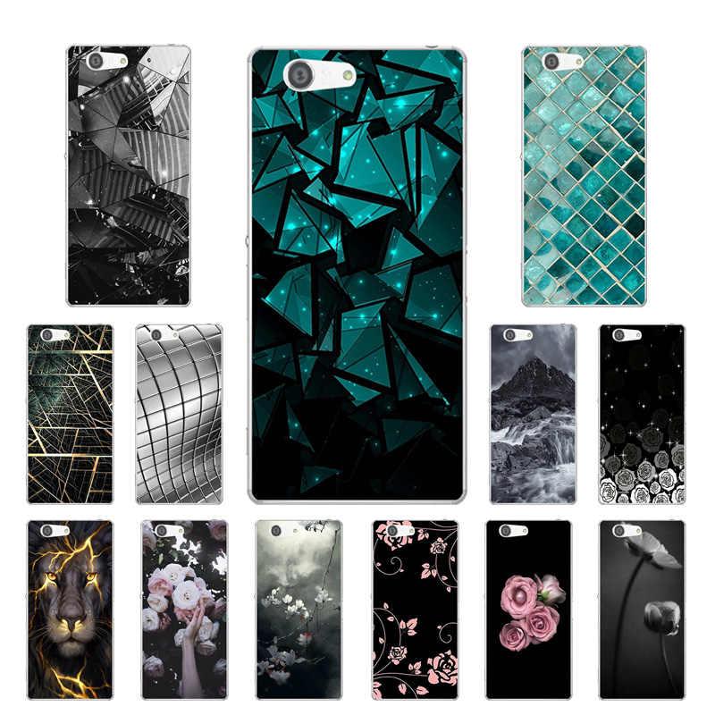 Для sony Xperia Z3 Compact Z3 Mini M55W D5803 D5833 силиконовый чехол с треугольным рисунком для sony Z3Compact/Z3Mini чехлы для телефонов