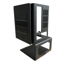 Дизельный двигатель с водяным охлаждением шасси полностью алюминиевый с вертикальным открыванием материнская плата Mini ITX может быть оснащен sfx архив блок питания atx блок питания