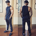 Golds Brand gyms clothing body shark vest bodybuilding tank top mens engineers stringer fitness singlets men muscle shirt top