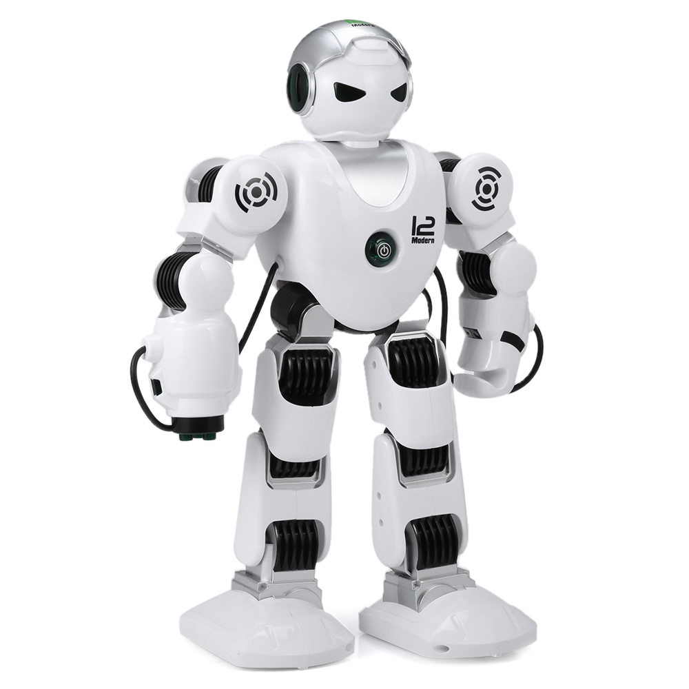 New Intelligent RC Robot Funny Indoor Outdoor Game Toys 2.4G Dancing Battle Model Toy Multi-function Remote Control Robots lz333 4 5ch intelligent electric robot remote control rc dancing robot