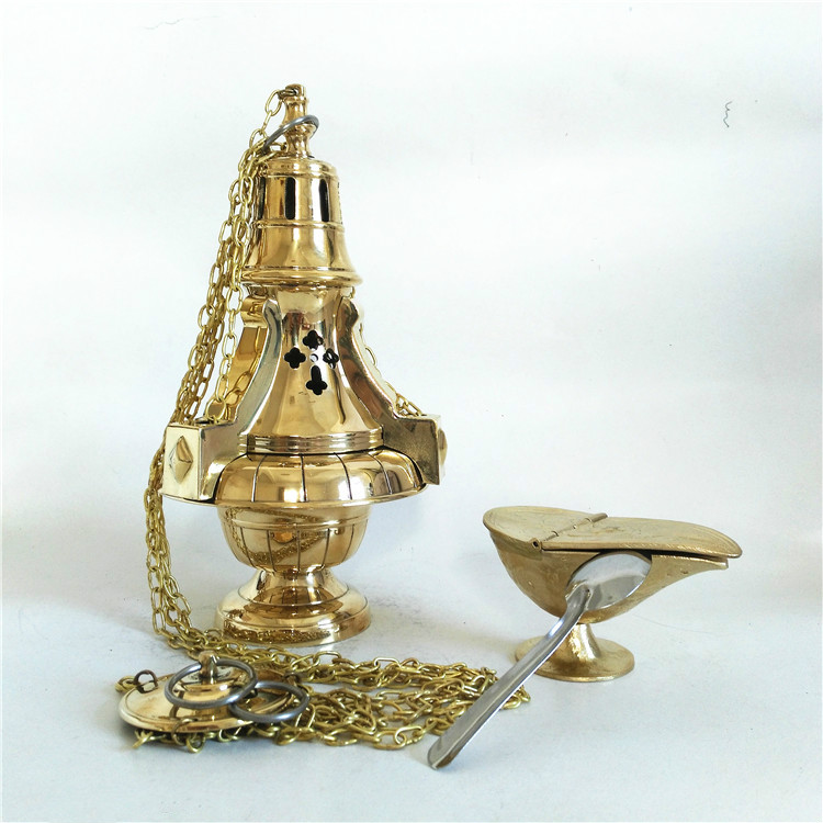 Christian Holy Catholic Church Services Mass Censer Hoisting Furnace Supplies Catholicism Gift Etiquette Lift Stove Rite Crafts
