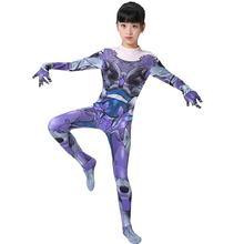 Adult Kids Alita : Battle Angel Cosplay Costume Zentai Bodysuit Suit Jumpsuits Alita Carnival Halloween Costumes for Women Girls