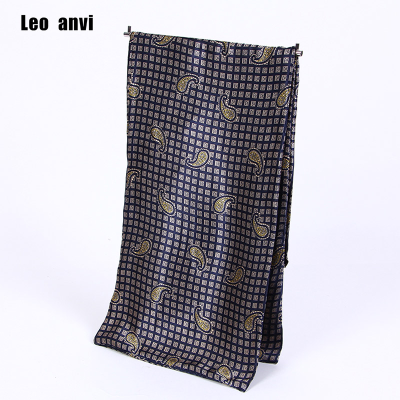 Leo anvi silk Scarf luxury brand men foulard bandana wraps