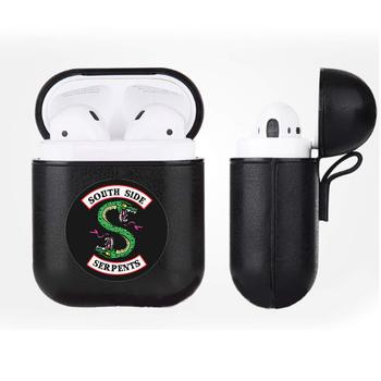 Giancomics Riverdale Airpods Case Wireless Bluetooth South Side Serpents Earphones Box Portable Protective Cover for AirPods wallet