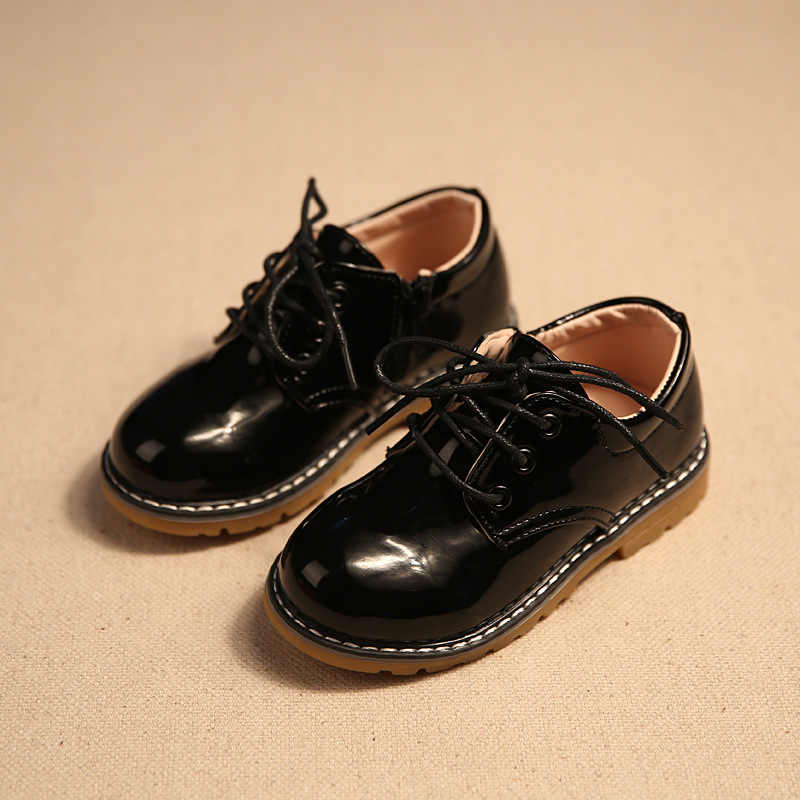 Fashion Baby girls leather shoes Baby