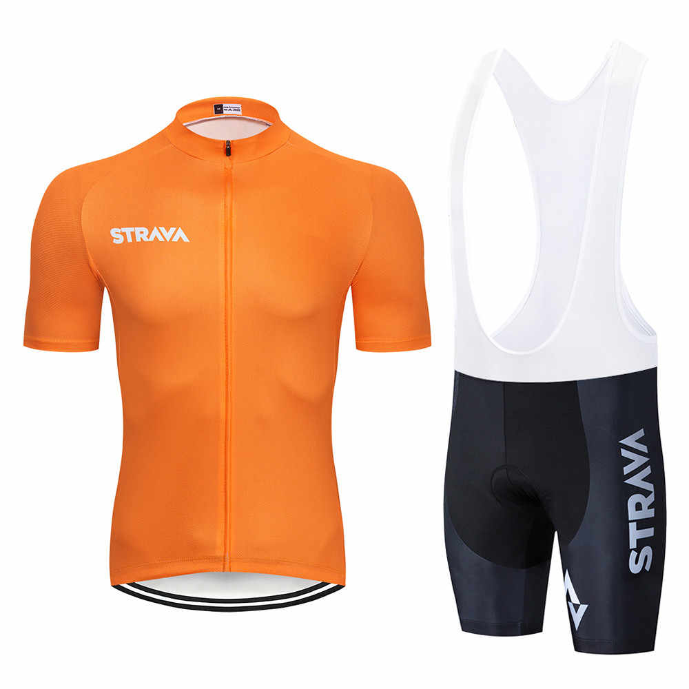 ... 2018 STRAVA cycling jersey Men s style short sleeves cycling clothing  sportswear outdoor mtb ropa ciclismo bike 66cad3595