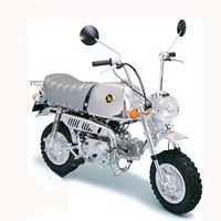 Assemble Motorcycle Model 1/6 HONDA GORILLA SPRING COLLECT