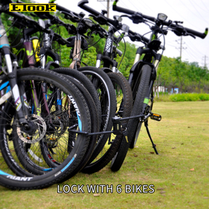 Image 5 - Serrure à vélo Etook serrure à VTT pliable serrure à moto robuste Anti vol la plus forte pour vélo électrique ET590