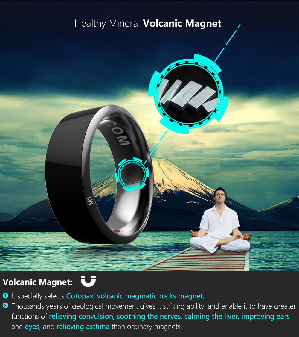 Jakcom Smart Ring R3 Hot Sale In Smart Gadgets Accessories New Technology for Android Windows NFC Mobile Phone mens jewellry 7