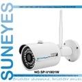 SunEyes SP-V1801W 1080 P Full HD Mini Cámara IP Inalámbrica Al Aire Libre Wifi ONVIF P2P y Visión Nocturna Por INFRARROJOS