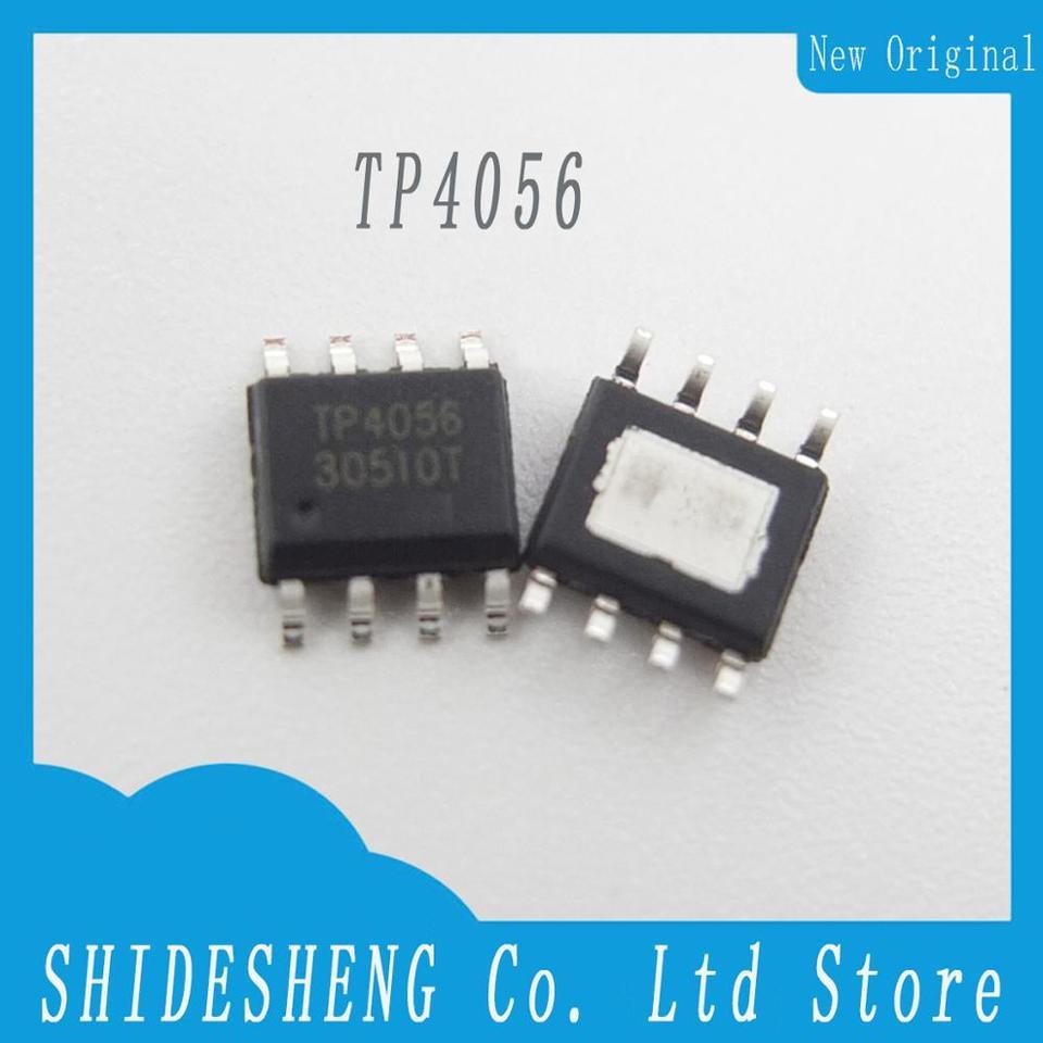 100Pcs TP4056 SOP-8 TP Chips Battery Charging IC NEW