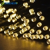 22M 200led Solar Led string light 12M 100LED  RGB single color Decoration Light for Christmas Garden light Holiday Outdoor Fairy discount
