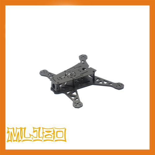 the newest DIY mini drone cross race quadcopter ML-180 pure carbon fiber frame unassembled