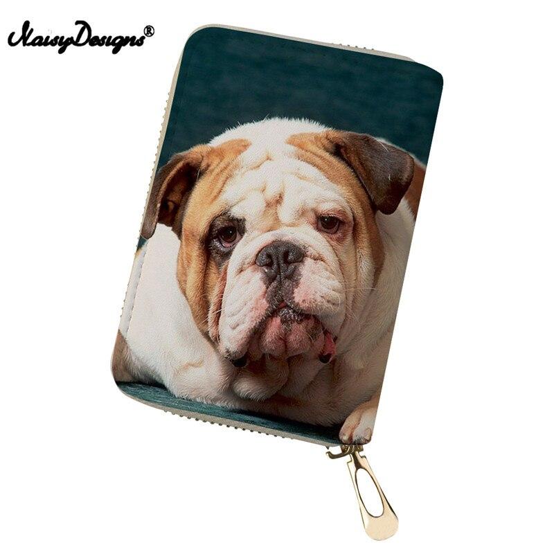 Boston Terrier Bulldog Frauen Brieftasche Kreditkarte Kleine Münze Tasche Und Damen Geldbörse Inhaber Kupplung Taschen Individualität Für Mädchen Direktverkaufspreis