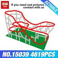 DHL Лепин 15039 4619 шт. здание серии ролик сборка строительных блоков кирпича DIY игрушки для детей DIY подарки на день рождения
