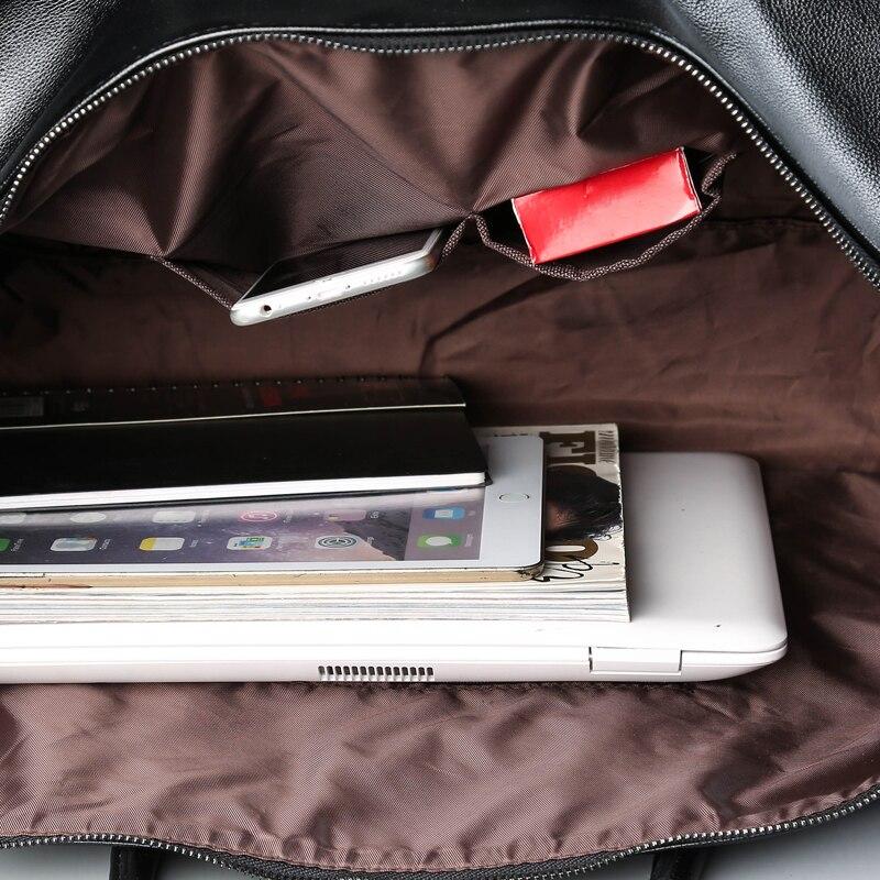 PU cuir souple Fitness sacs de Sport pour hommes Rivet Design formation sac à bandoulière Sport sac à main sac de voyage avec motif XA626WD - 3